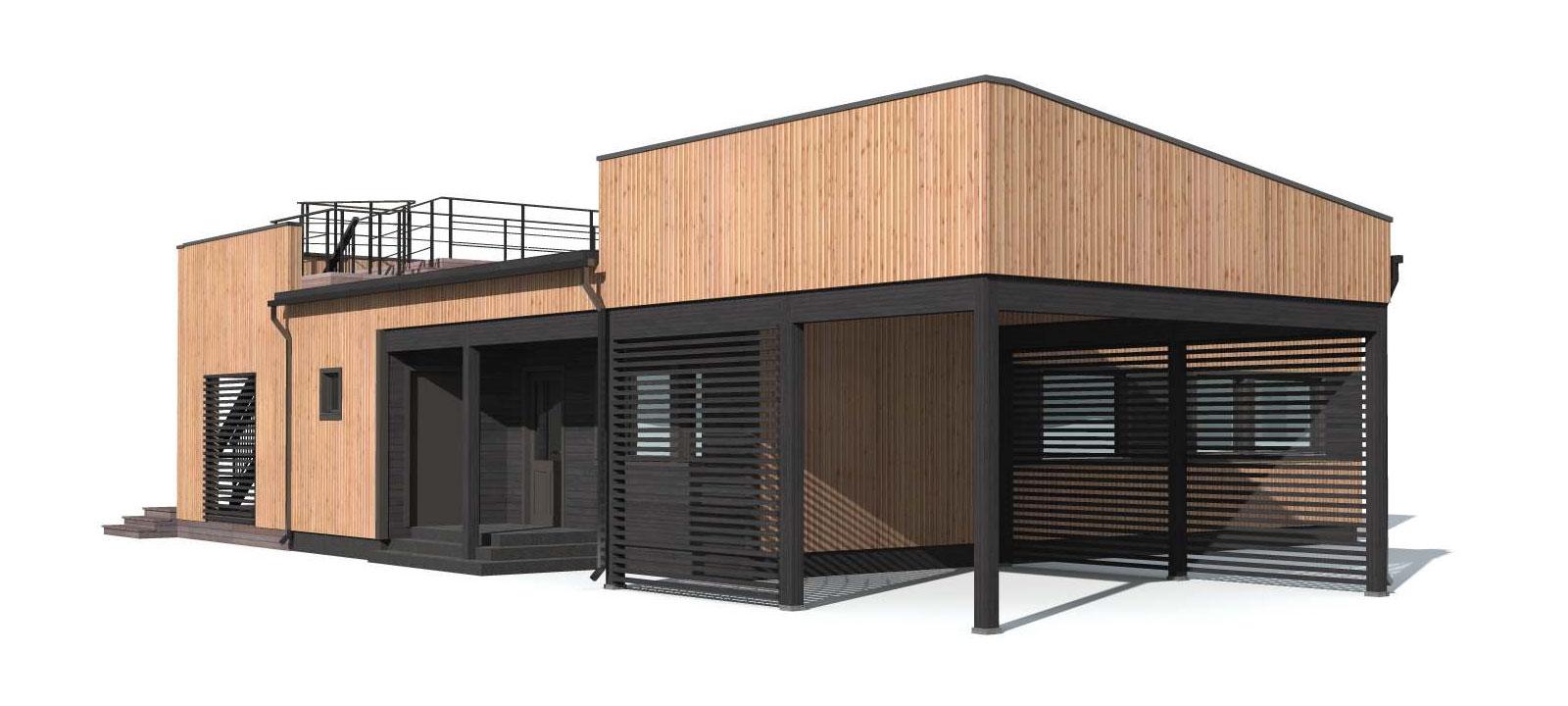 Woodville Design Houtbouw Woning Admirals Rest