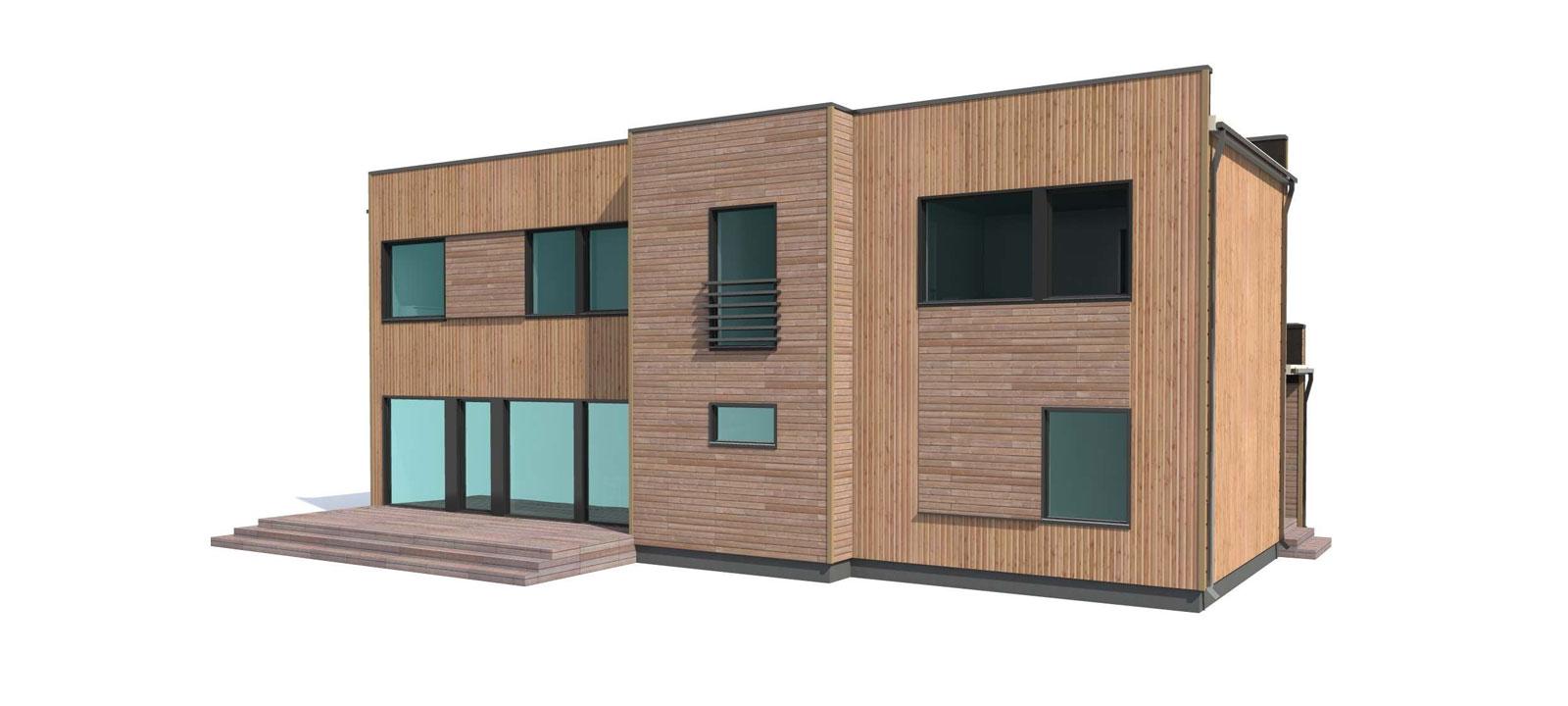 Woodville Design Houtbouw Woning Camelot