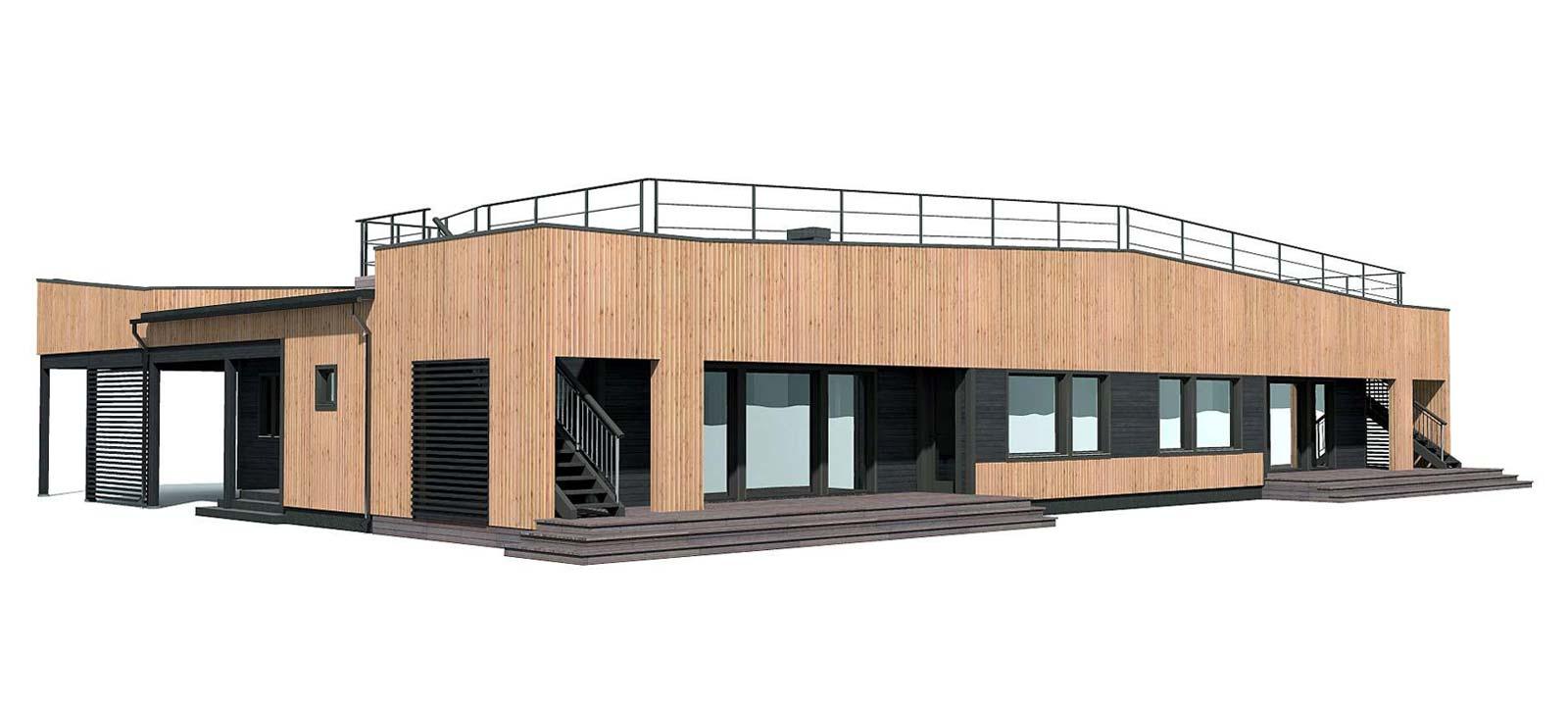 Woodville Design Houtbouw Woning Moonhill