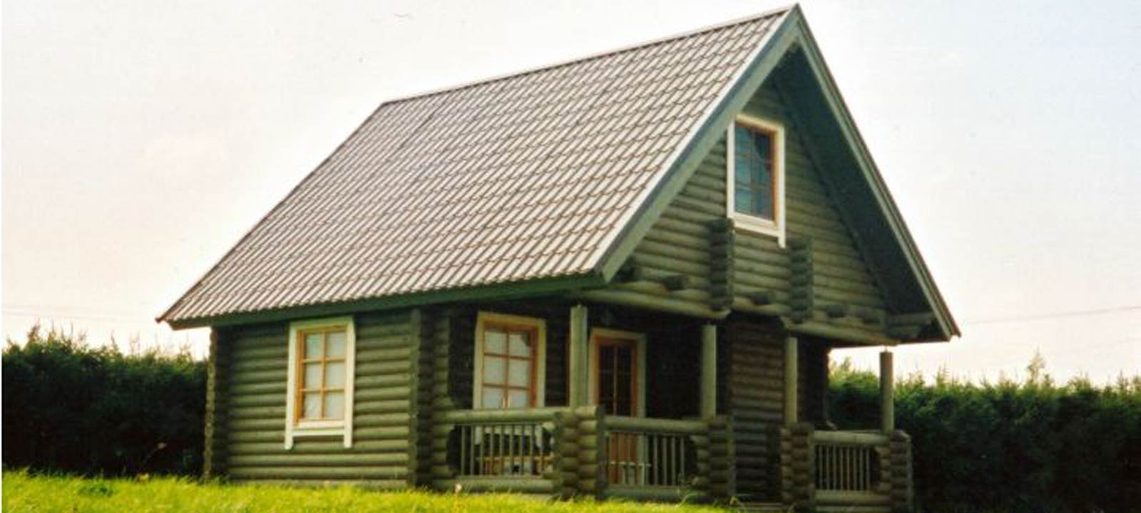 WoodVille Design Blokhut CARIBOO RLR 54M2 Huis