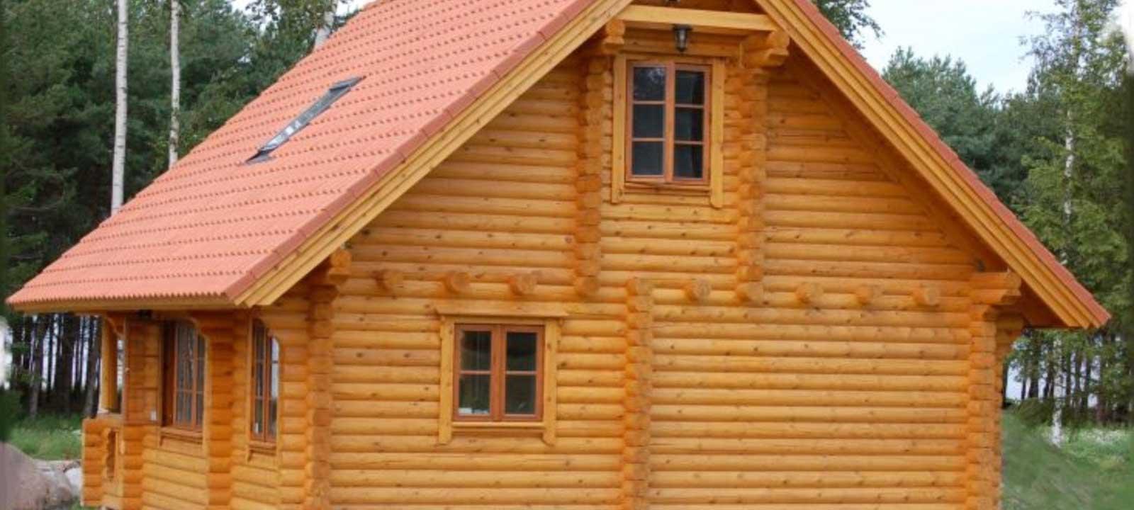 WoodVille Design Blokhut HAWKSNEST RLR 80M2