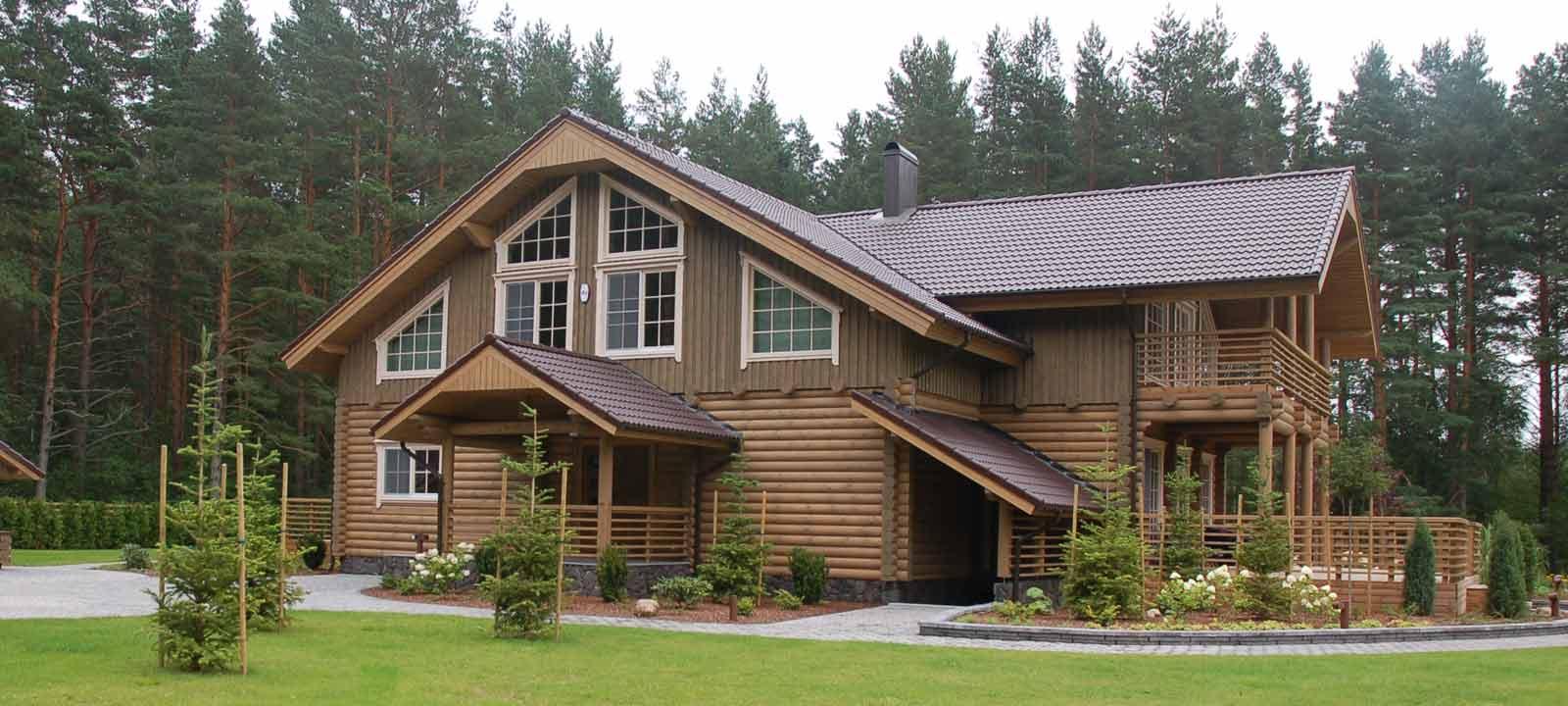 WoodVille Design Blokhut KINGSLANDING RLR 650M2 Huis