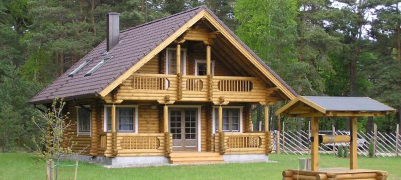 WoodVille Design Blokhut MtBLANC RLR 114M2
