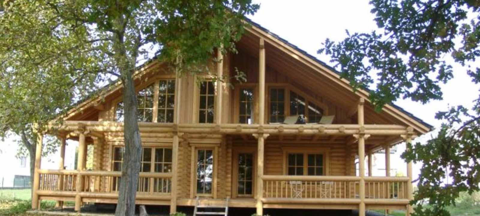 WoodVille Design Blokhut MtOLYMPUS RLR 291M2