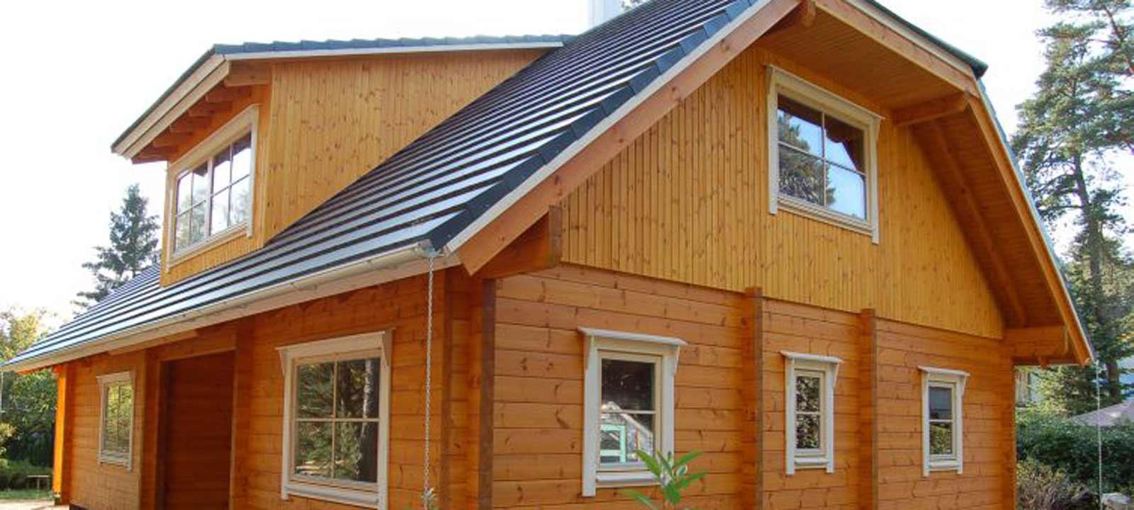 WoodVille Design Blokhut WOODLAND VLR 168M2