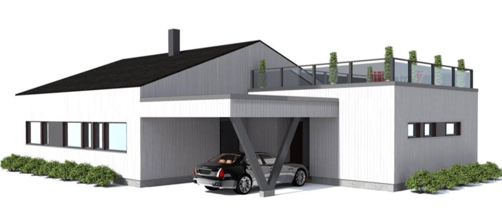 WoodVille design Houtbouw Woning | Zensation